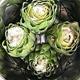 Parmesan Garlic Artichokes