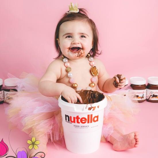Nutella Cake Smash
