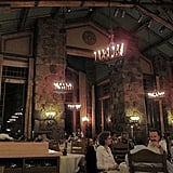 The Ahwahnee Dining Room at Night