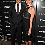 Straw Dogs costars Kate Bosworth and James Marsden.