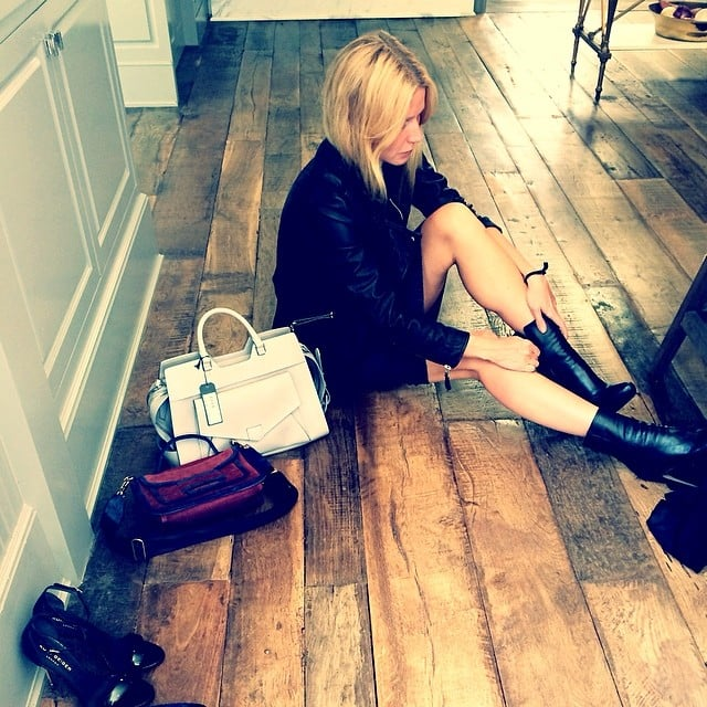 """Gwyneth Paltrow did some """"Spring cleaning."""" Source: Instagram user gwynethpaltrow"""