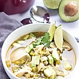 Slow-Cooker Green Chile Chicken Soup