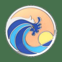 Ride the Wave Enamel PopSocket
