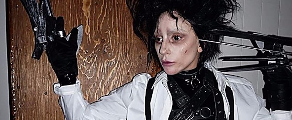 Lady Gaga's Epic Edward Scissorhands Costume Needs to Be Seen to Be Believed
