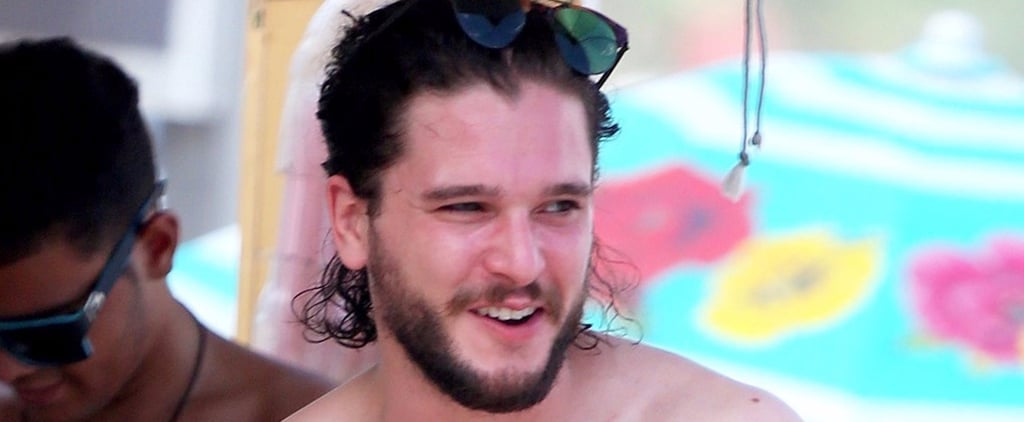 Kit Harington Shirtless Pictures