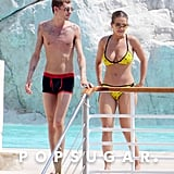 Rita Ora Flaunts Her Bikini Body While Mingling With a Mystery Man in Cannes