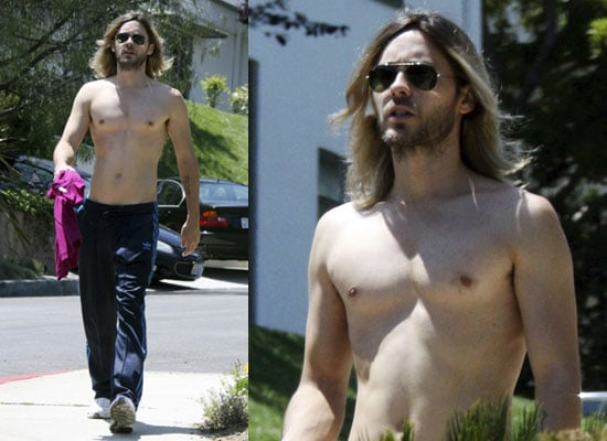 26/5/2009 Shirtless Jared Leto