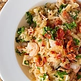 Grain Free Bacon and Shrimp Risotto