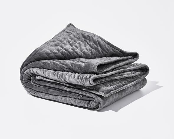 """I'm a night owl and have a hard time winding down to fall asleep. I've tried reading, journaling, warm baths — and I was DYING to try a Gravity Blanket ($249). The idea of cozying up under a weighted blanket all Winter seemed heavenly, but I just wasn't able to rationalize the price point. Thankfully, Klarna made it easy for me to splurge without the guilt, and now you'll never get me out of bed."" — Joanna Douglas, Head of Native Content"