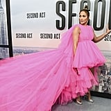 Jennifer Lopez at the 2018 Second Act World Premiere