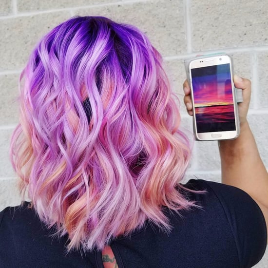 Sunset Millennial Pink Hair Trend 2017