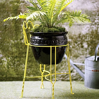 Cool Idea: Stool as Plant Stand