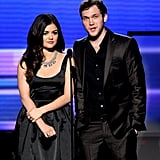 Lucy Hale and Phillip Phillips