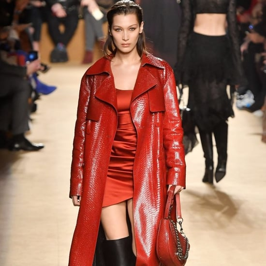 Bella Hadid at Fashion Week Fall 2018