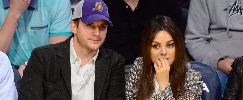 Mila Kunis and Ashton Kutcher Don't Give Christmas Presents