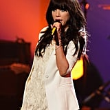 Carly Rae Jepsen stepped out in LA to perform at the American Music Awards.