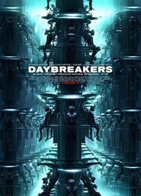 Daybreakers Vampire Horror Movie Starring Ethan Hawke, Willem Dafoe, Isabel Lucas and Claudia Karvan opens