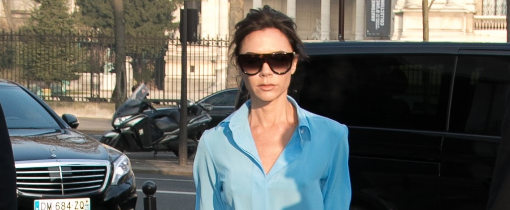 Victoria Beckham Mixed Two Colors Few Would Dare to Wear