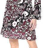 Ella Moon Lena Ruffled Sleeve V-Neck Wrap Dress