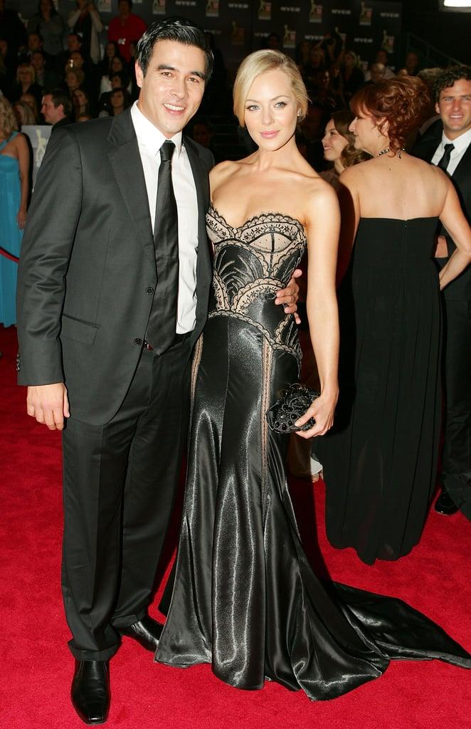 2010: James Stewart and Jessica Marais