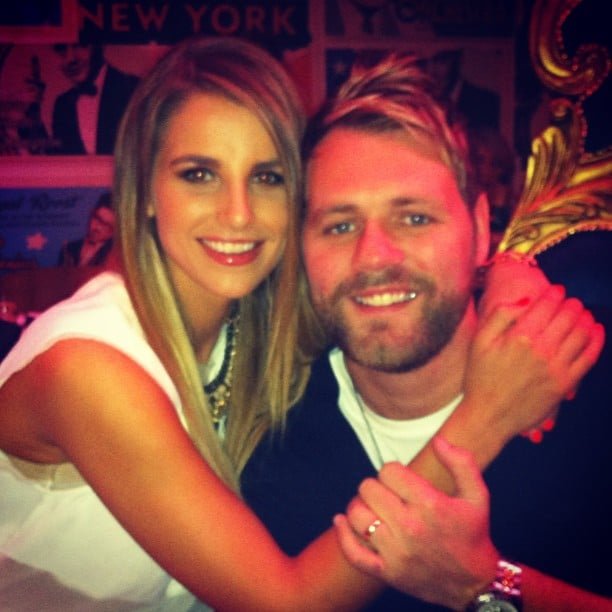 Vogue and Brian McFadden celebrated a friend's birthday. Source: Instagram user voguewilliams