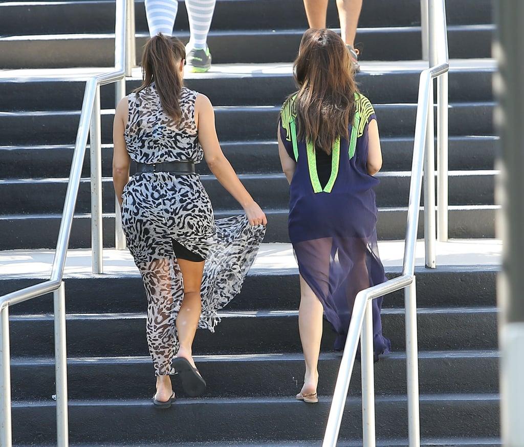 Kim and Kourtney Kardashian in Miami | Pictures
