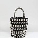 Straw Bucket With Drawstring