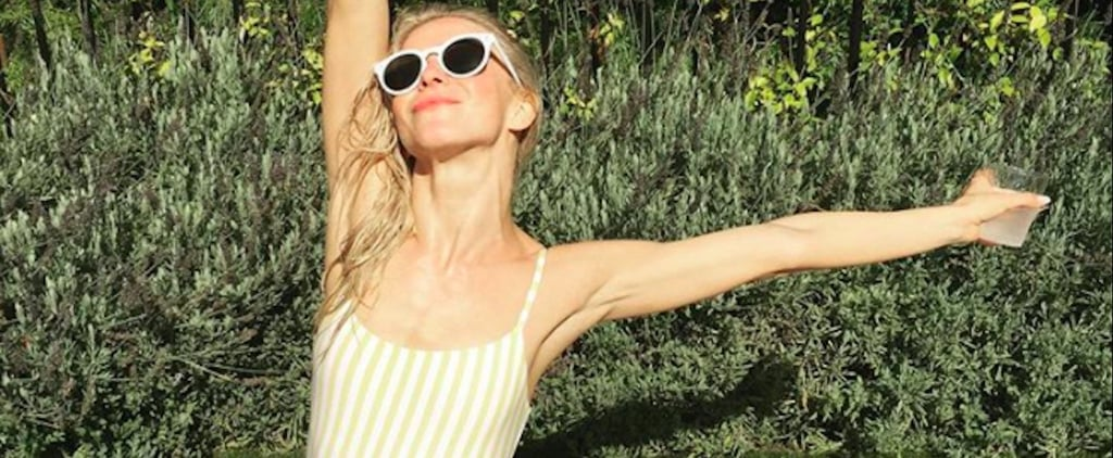 Julianne Hough's Fourth of July Swimsuit Was So Perfectly Sunny, You'll Want It Right Now