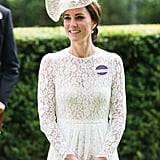 Kate Middleton Holding Her Clutch 2017