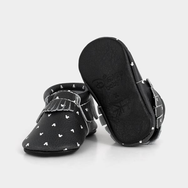 For 1-Year-Olds: Freshly Picked x Disney Classic Mickey Ears Moccasins