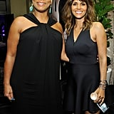 Queen Latifah and Halle Berry teamed up at unite4:humanity's party.