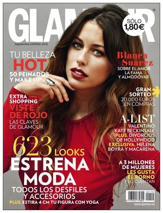 Glamour Spain September 2012