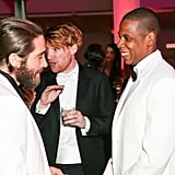 Jake Gyllenhaal and Jay Z