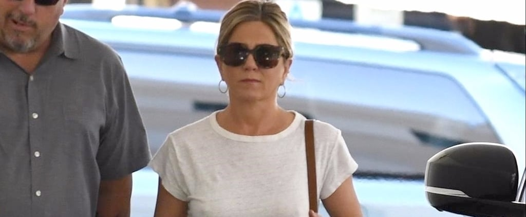 You've Seen Jennifer Aniston in This Outfit Before — but Have You Checked Out Her Belt?