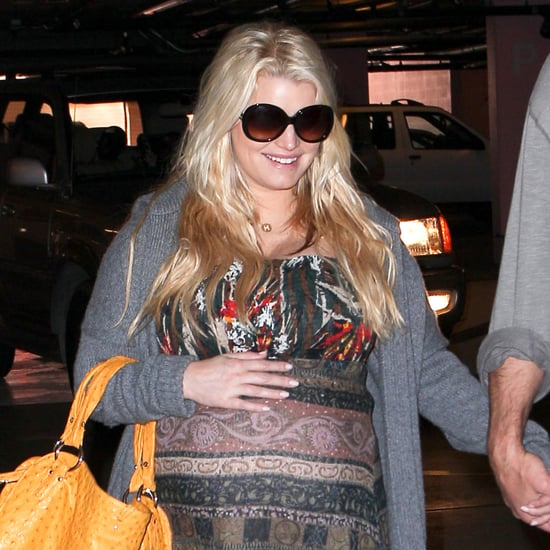 Pregnant Jessica Simpson With Eric Johnson in LA Pictures