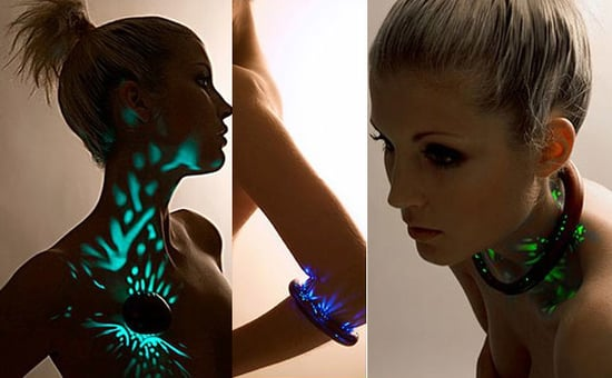 Totally Geeky or Geek Chic? Aurora Second Skin Light Jewelry