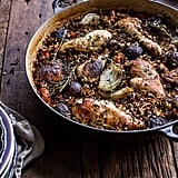 1-Pot Herb Roasted Chicken With Wild Rice Pilaf