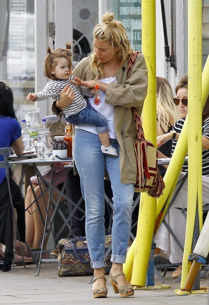 Sienna Miller took Marlowe out in London.