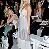 Laura Whitmore was floaty at Maria Grachvogel.