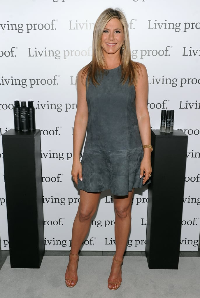 """Jennifer Aniston Talks """"What Not to Do"""" With Hair"""