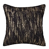 Metallic Cable Knit Pillow ($25)