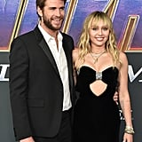 April 2019: Liam and Miley Stunt on the Avengers: Endgame Red Carpet