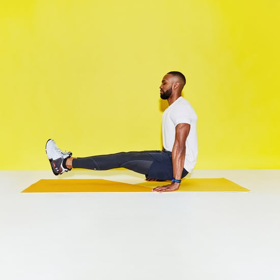 Pasch Shows 3 Yoga Moves For Arms & Abs on TikTok