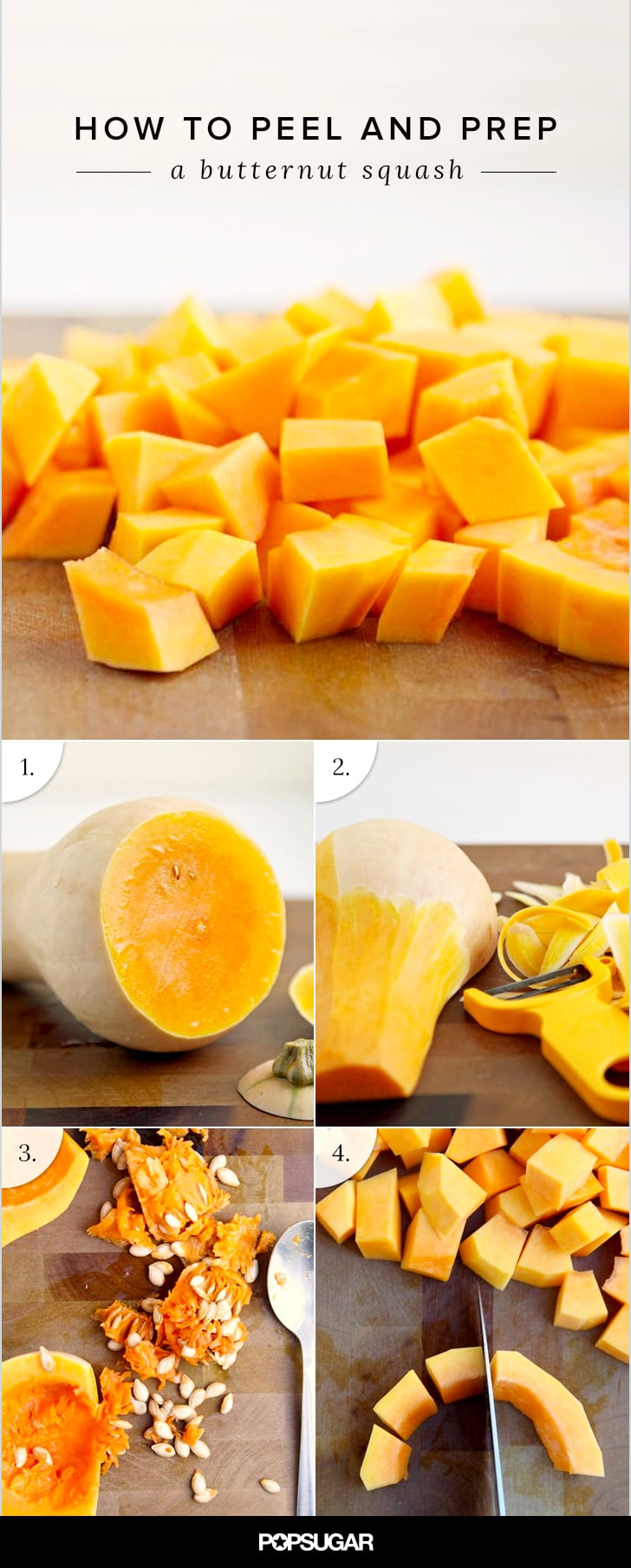 How to Peel and Prep a Butternut Squash, Accident-Free