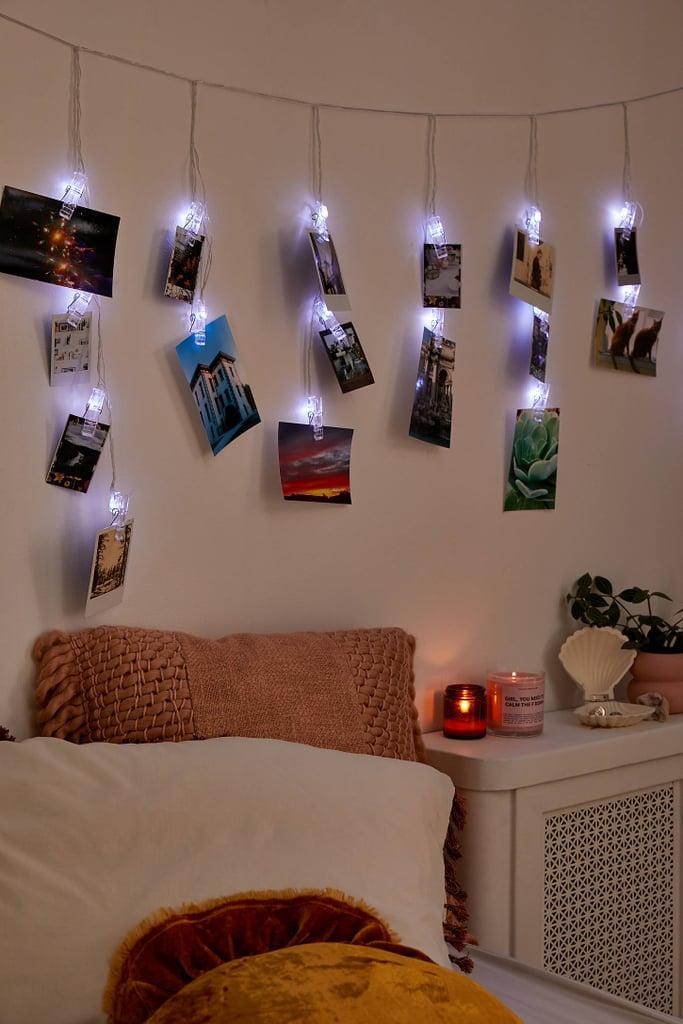 Photo Clip Curtain String Lights