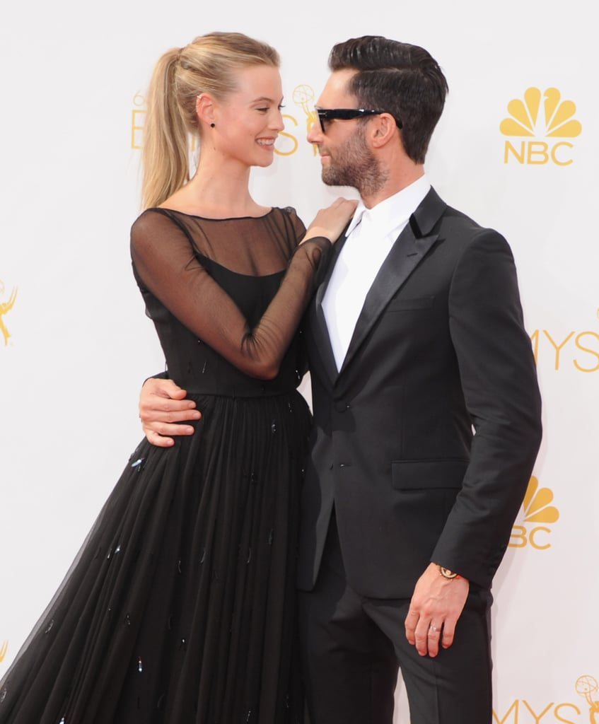 Behati prinsloo and adam levine cutest moments pictures popsugar behati prinsloo and adam levine cutest moments pictures popsugar celebrity junglespirit Images