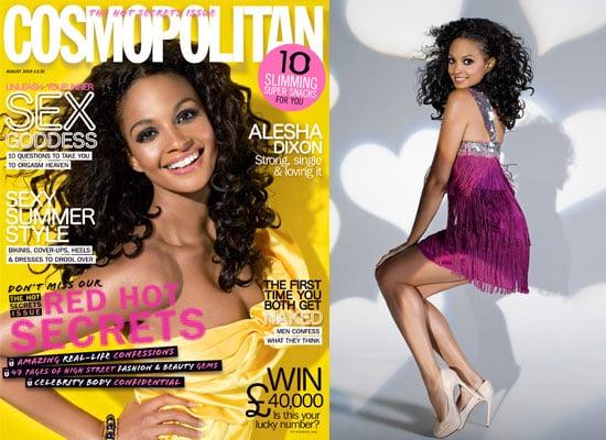 Alesha Dixon in Cosmopolitan
