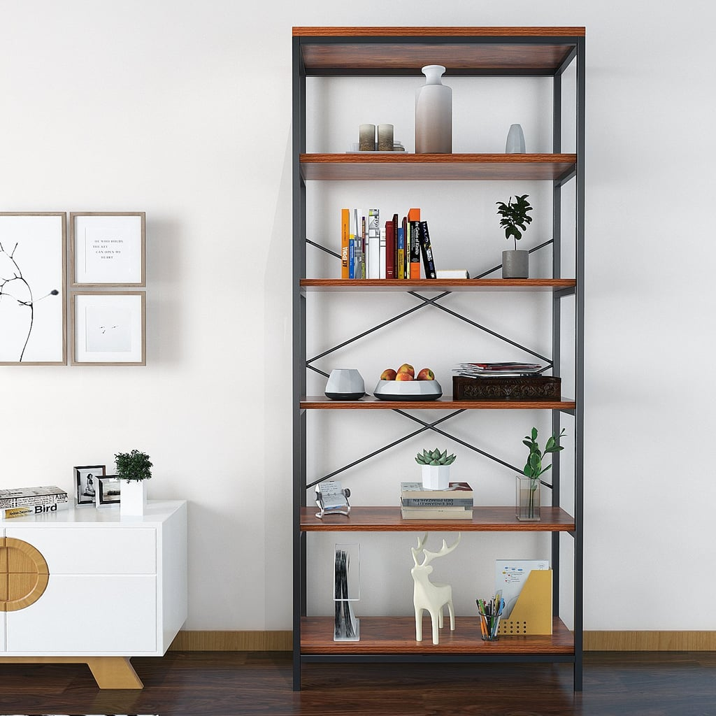 An Elegant Wooden Bookshelf
