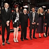Jake Gyllenhaal, Anton Corbijn, Charlotte Gainsbourg, Mike Leigh, Francois Ozon, Barbara Sukowa, Asghar Farhadi and Boualem Sansal attended the closing ceremony of the Berlin International Film Festival.