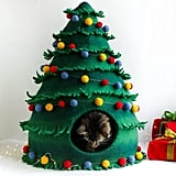MeowFelt Christmas Cat Bed